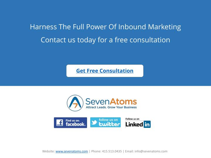 Harness The Full Power Of Inbound Marketing