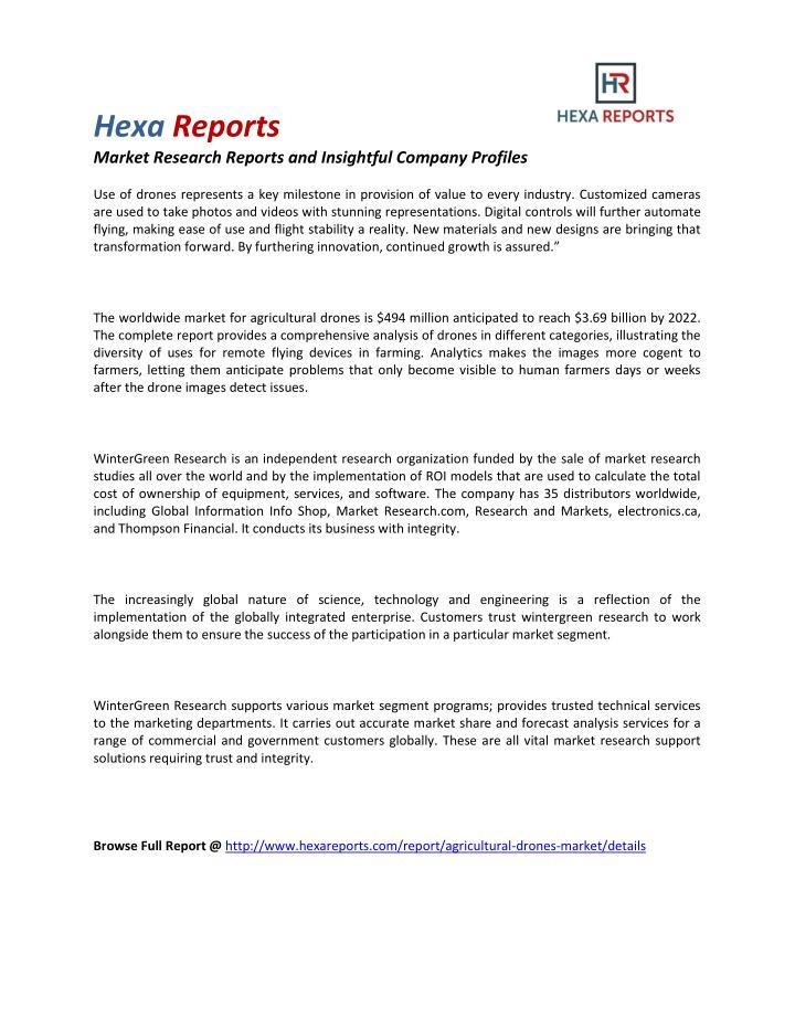 Hexa Reports