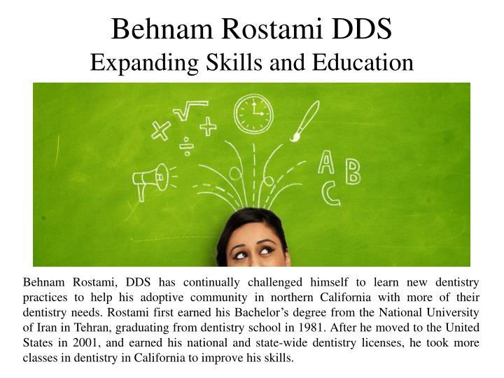 Behnam Rostami DDS