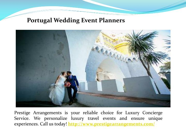 Portugal Wedding Event Planners