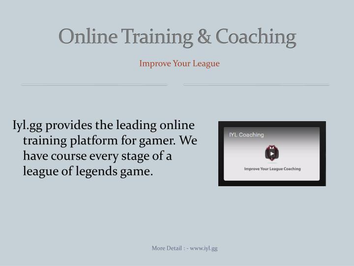 Online Training & Coaching