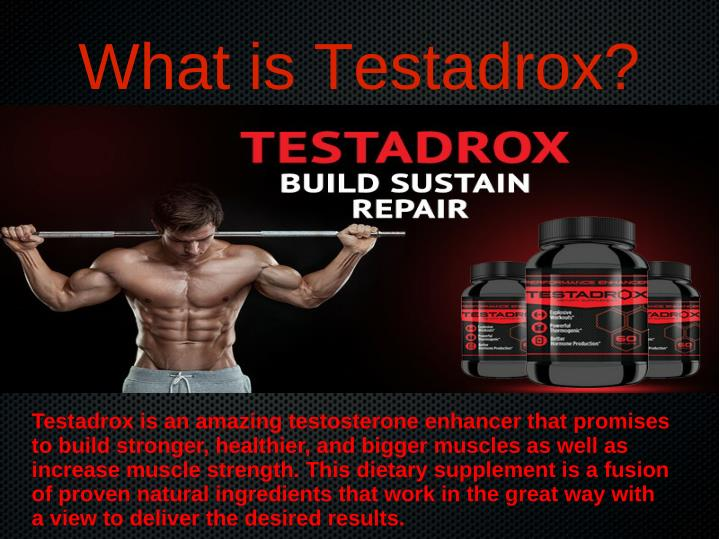 What is Testadrox?
