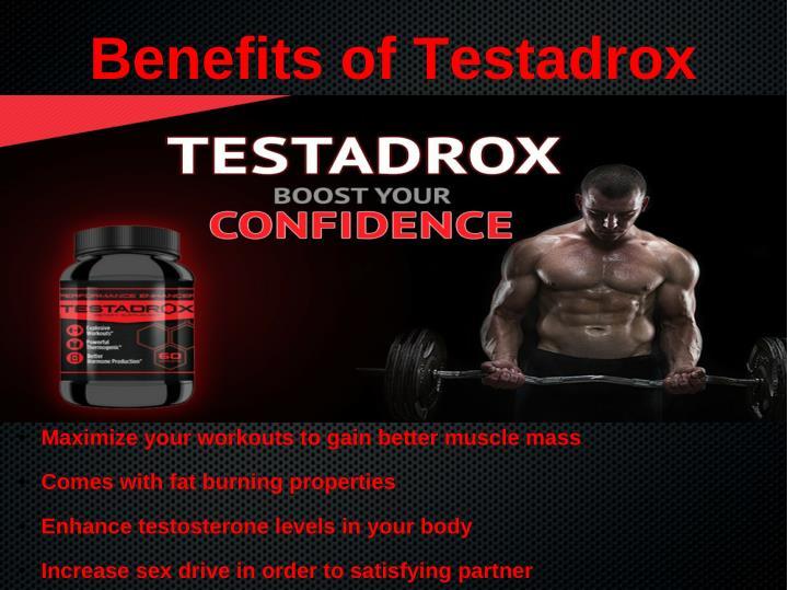 Benefits of Testadrox
