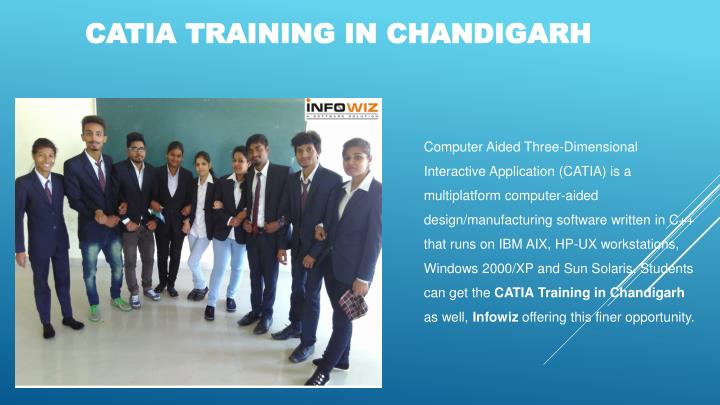 CATIA TRAINING IN CHANDIGARH