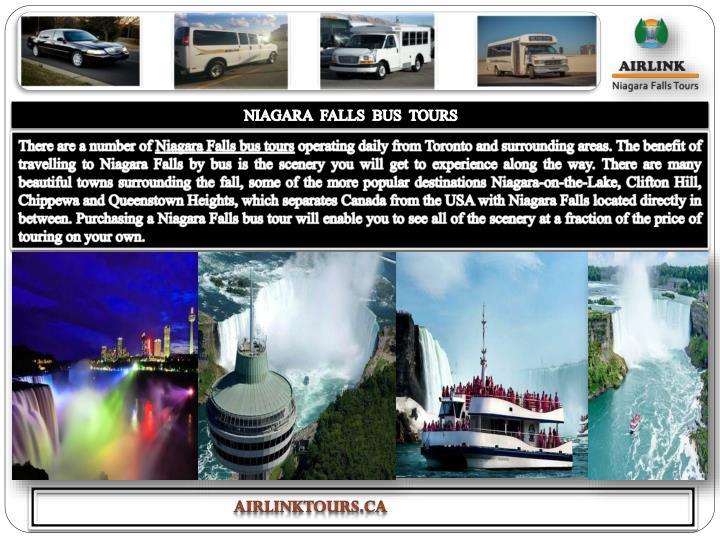 NIAGARA  FALLS  BUS  TOURS