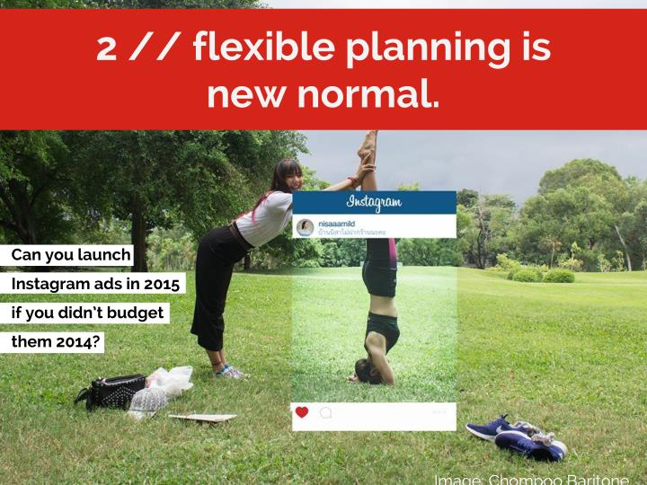2 // flexible planning is