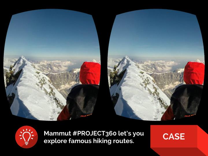 Mammut #PROJECT360 let's you