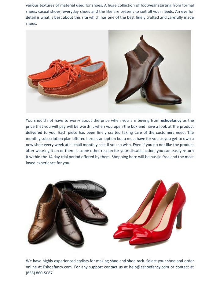 Various textures of material used for shoes. A huge collection of footwear starting from formal