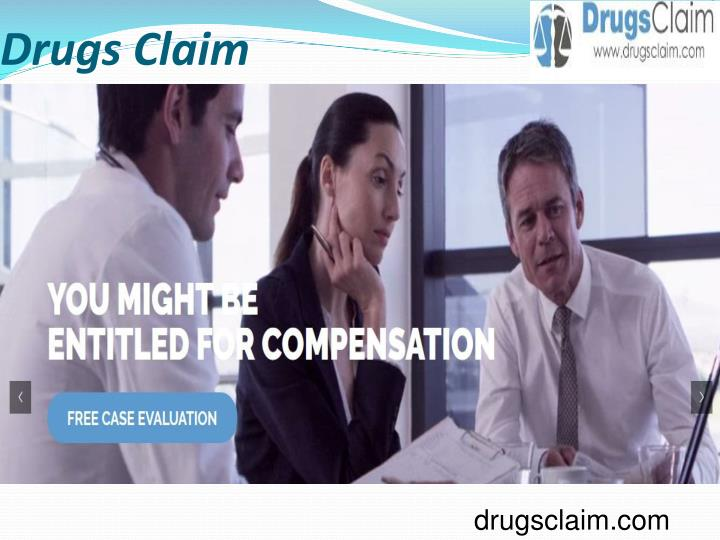 Drugs claim