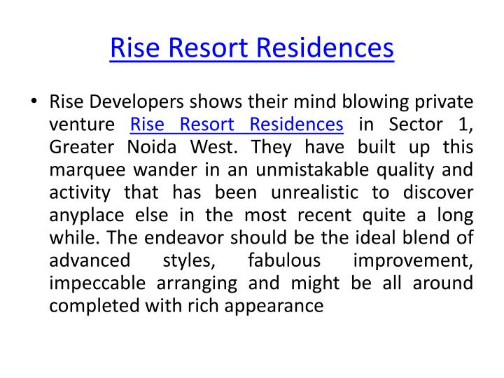 Rise resort residences1