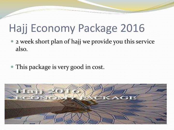 Hajj Economy Package