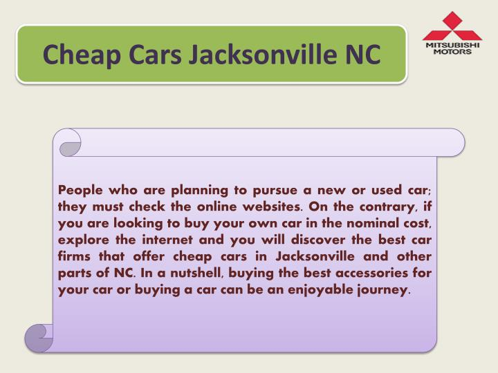 PPT - Find Cheap Cars in Jacksonville, NC PowerPoint Presentation - ID:7360352