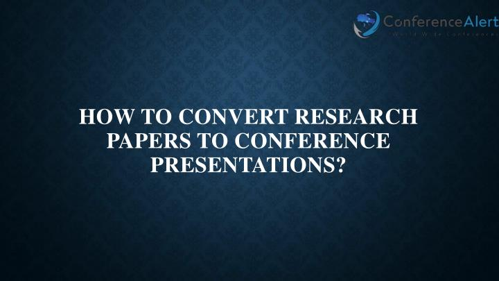 powerpoint presentation for research paper Writing a research paper liberty university center for writing and languages  writing a research paper choosing your topic narrowing your topic writing.