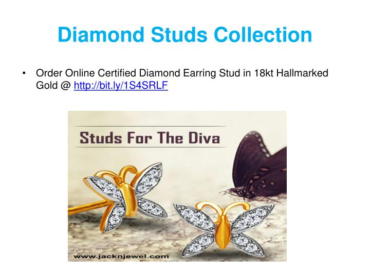 Diamond Studs Collection