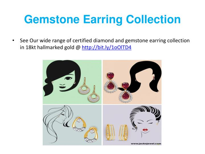 Gemstone Earring Collection
