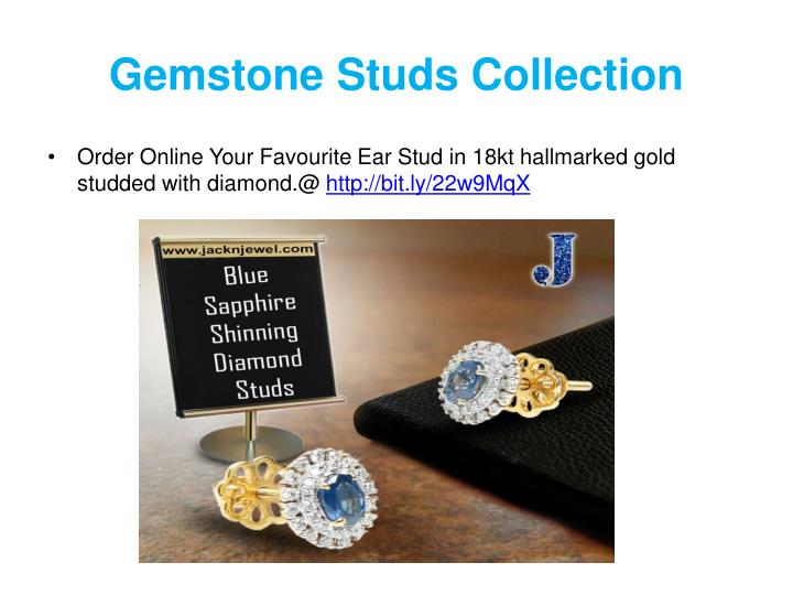 Gemstone Studs Collection