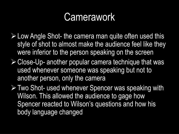 Camerawork