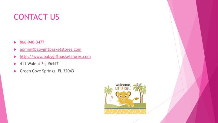 Popular Newborn Baby Shower Gifts PowerPoint