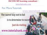 iscom 305 learning consultant tutorialrank com15