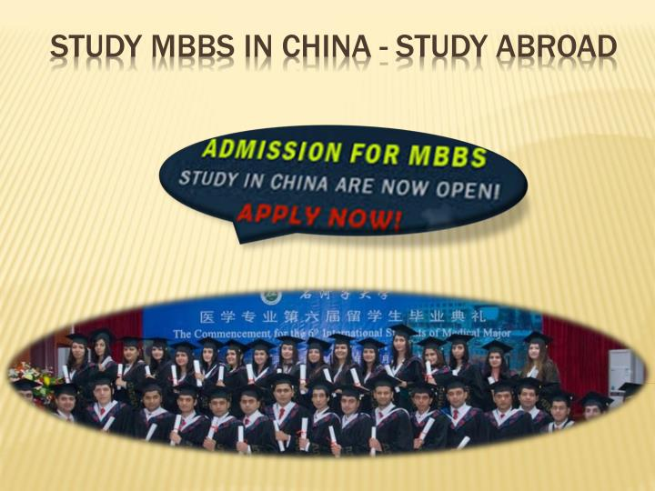 Study MBBS in China - Study Abroad