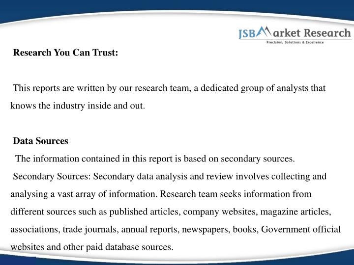 Research You Can Trust: