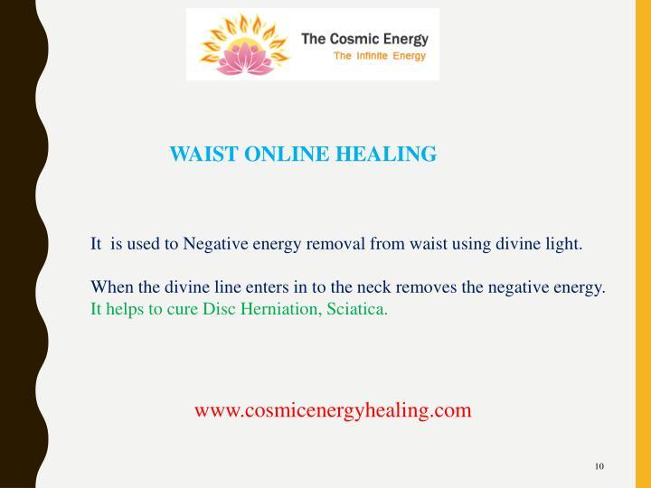WAIST ONLINE HEALING
