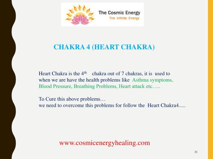 CHAKRA 4 (HEART CHAKRA)
