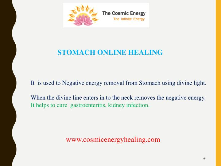 STOMACH ONLINE HEALING