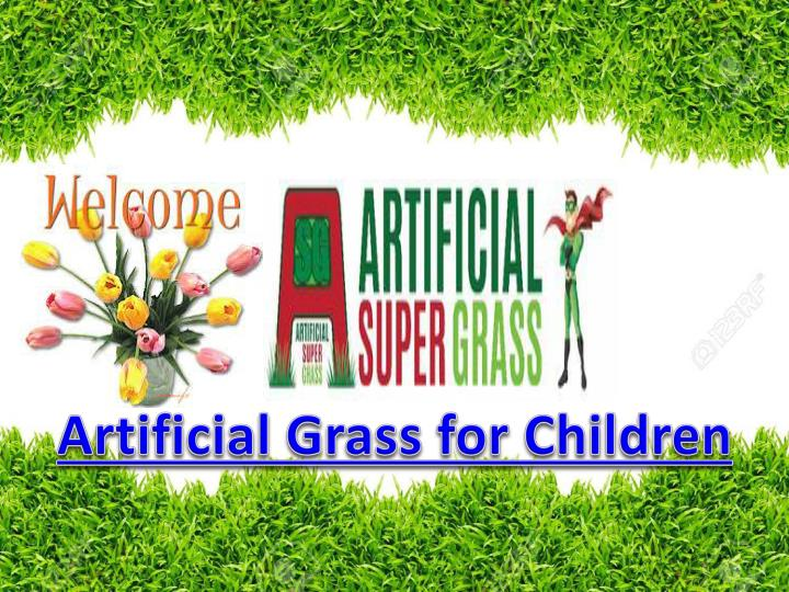 Artificial Grass for Children
