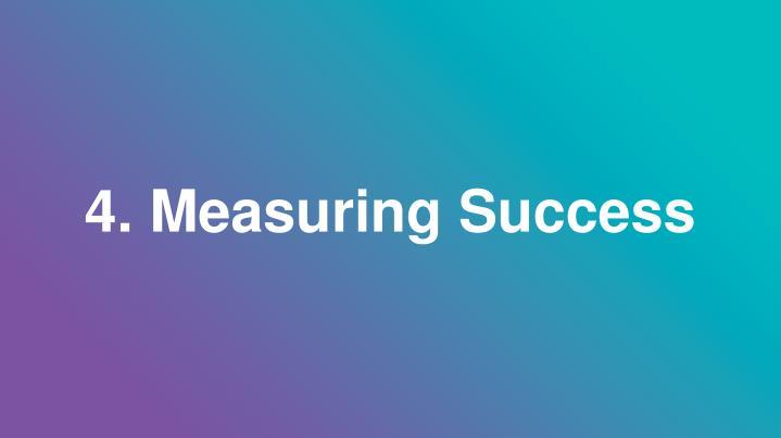 4. Measuring Success