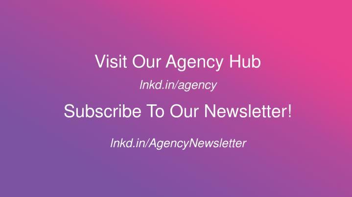 Visit Our Agency Hub