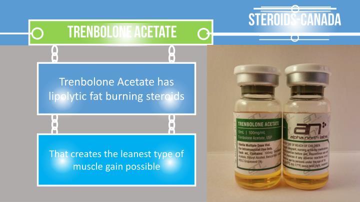trenbolone acetate canada