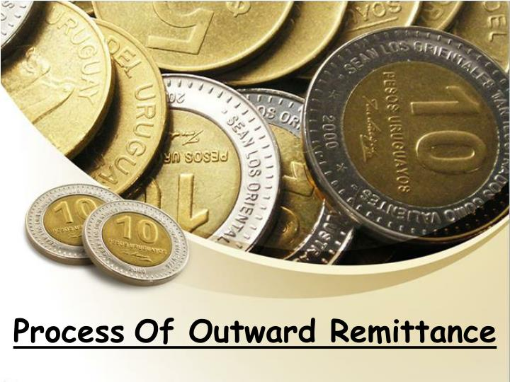 Process of outward remittance