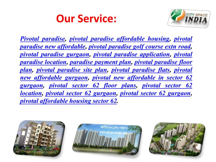 Our Service: