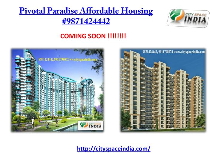 Pivotal paradise affordable housing 9871424442