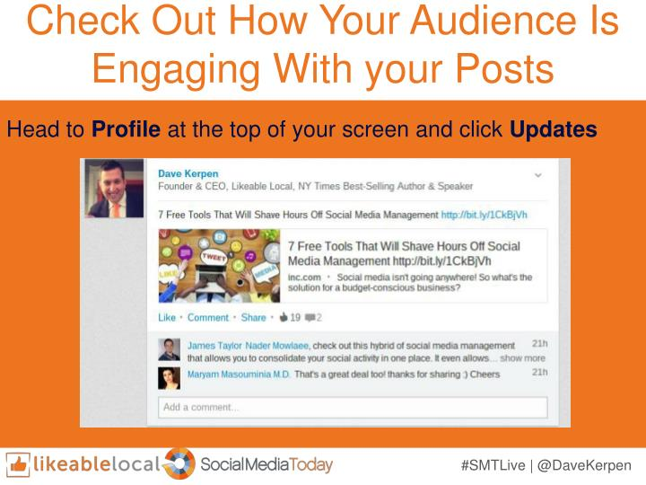 Check Out How Your Audience Is Engaging With your Posts