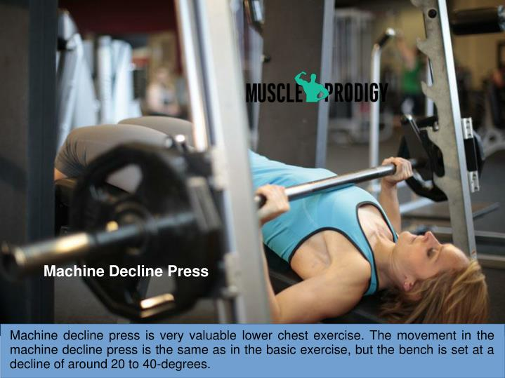 Machine Decline Press