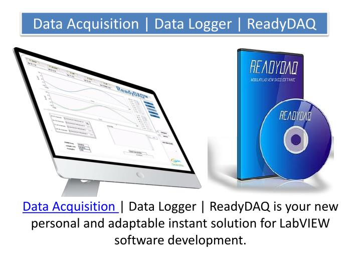 Data acquisition data logger readydaq