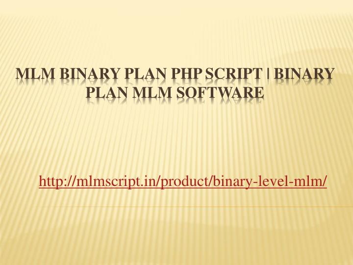 Binary option php script