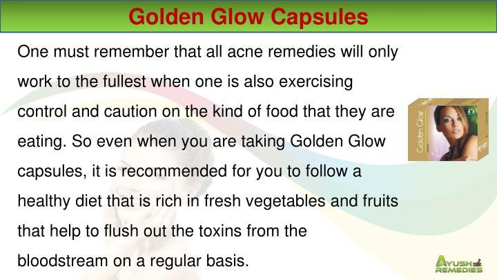 Golden Glow Capsules