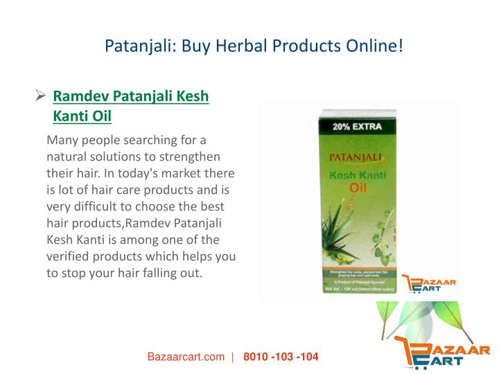 Patanjali: Buy Herbal Products Online!