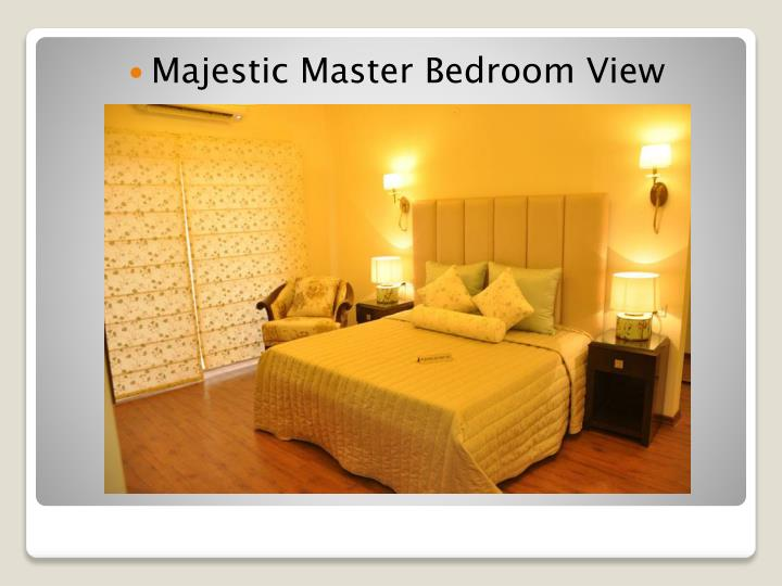 Majestic Master Bedroom View