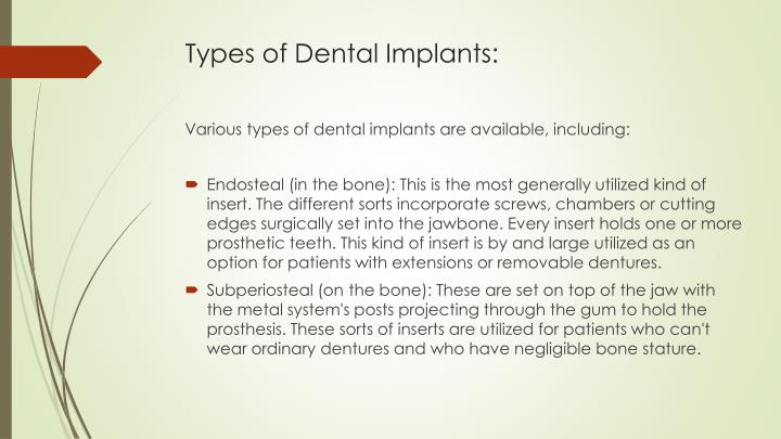 PPT - Dental Implants to Replace Missing Teeth PowerPoint ...