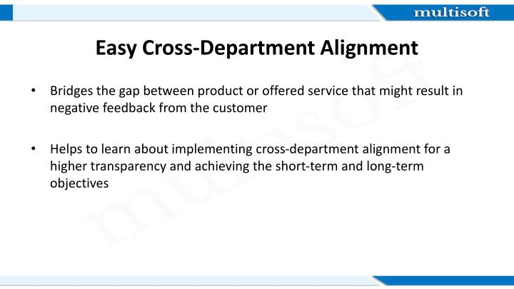 Easy Cross-Department Alignment