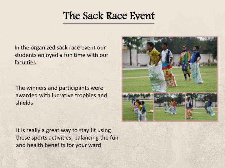 The Sack Race Event