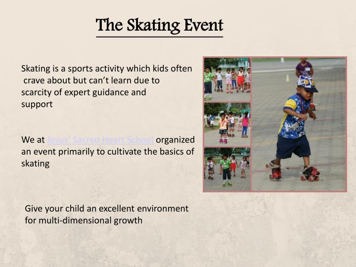 The Skating Event