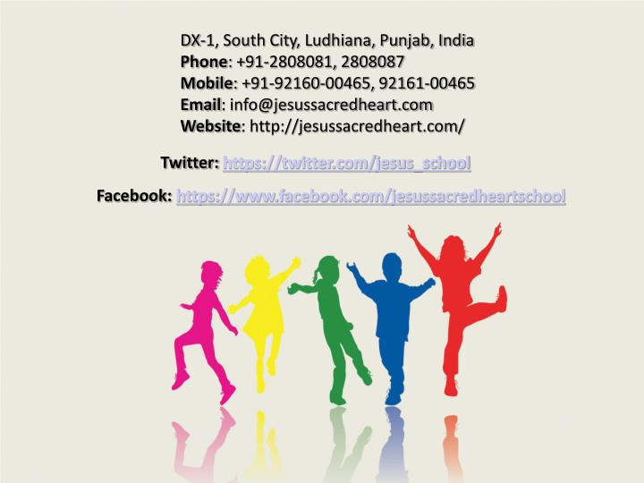 DX-1, South City, Ludhiana, Punjab, India