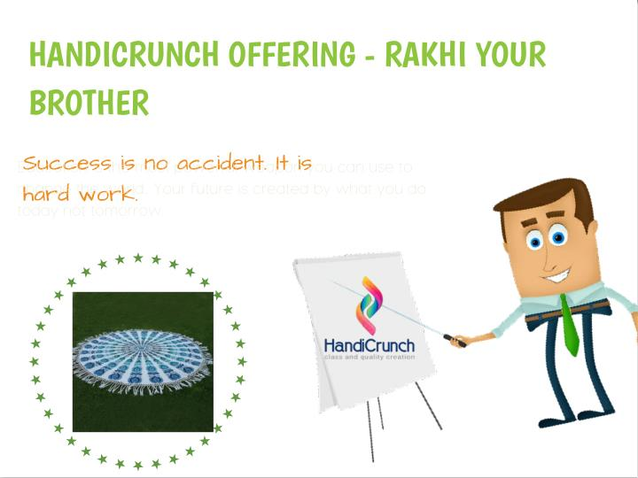 HANDICRUNCH OFFERING - RAKHI YOUR
