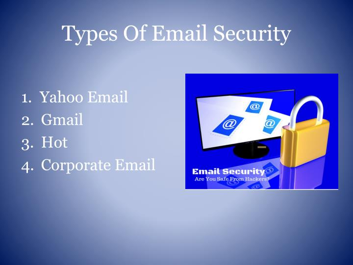 Ppt Biometric Authentication System For Secured E Mail