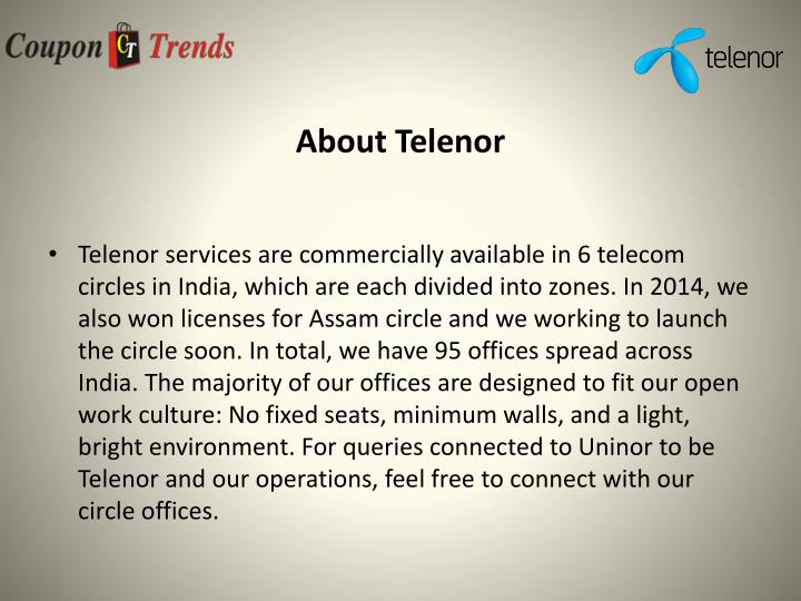 About telenor